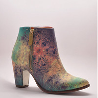 Val Tek Cosmic Marble Ankle Boots by Miista   Edge of Urge