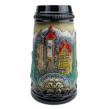 Mountain Village Beer Stein without Lid