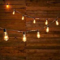 Clear Vintage Edison Style Bulb String Of Lights Outdoor Porch Patio Home Decor