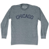 Chicago City Vintage Long Sleeve T-Shirt