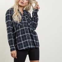 Long Gone Plaid Hoodie