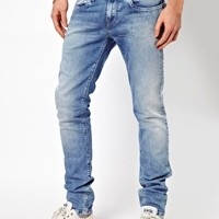 Pepe Jeans Hatch Skinny Fit Bleach Wash