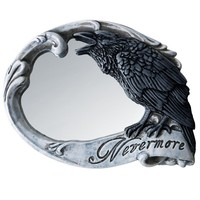 """""""Nevermore"""" Compact Mirror by Alchemy of England"""