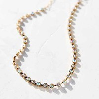 Glamour Stones Strand Choker Necklace