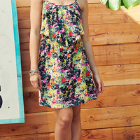 Dreaming In Floral Printed Cami Dress