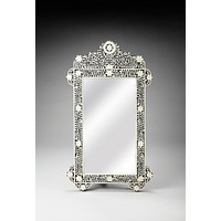 Butler Vivienne Crown Bone Inlay Wall Mirror