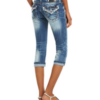 Miss Me Flap-Pocket Capri Jeans | Dillard's Mobile