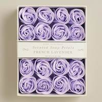 Lavender Soap Petals, 20 Pieces - World Market