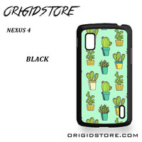 Cactus For Google Nexus 4 Case UY