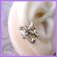 Silver Empire silver ear cuff earring RIGHT by RingRingRing