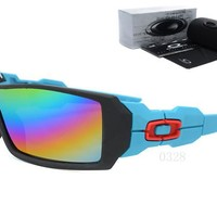 OKEY AA Sports Sunglasses for men women Baseball Running Cycling Fishing Golf Tr90 Durable Frame [2974244783]