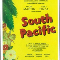 South Pacific 11x17 Broadway Show Poster (1949)
