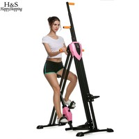 Vertical Climber Gym Exercise Fitness Machine Stepper Cardio Integrated Fitness Equipments non-stick grips Legs Arms Abs Calf