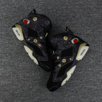 Best Deal Online Nike Air Jordan Retro 6 CNY Chinese New Year Men Sneakers AA2492-021 Basketball Sports Shoes