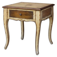 Uttermost Ruggerio Wooden End Table - 25613