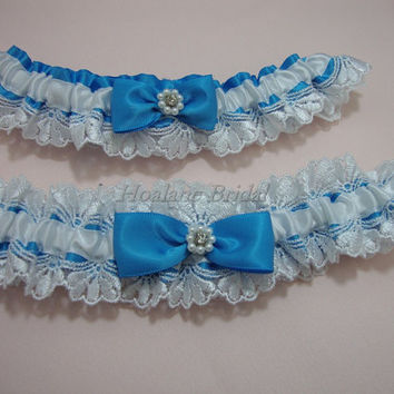 Garter set, lace garter set, Wedding garter set