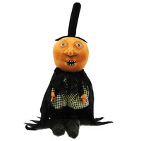 Halloween MOONHEAD Fabric Pumpkin 65522