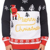 Ugly Christmas Sweater - Yellow Snow Sweater by Tipsy Elves (M)