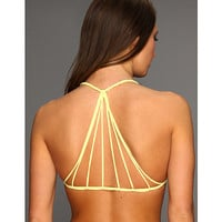 MIKOH SWIMWEAR Banyans Multi String Racerback Bikini Top Bamboo - Zappos.com Free Shipping BOTH Ways