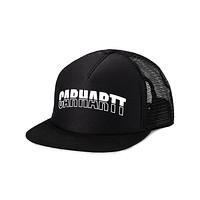 District Trucker Cap in Black