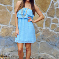 Only Just A Dream Dress: Baby Blue | Hope's