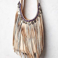 Simone Camille & Free People Womens Evermore Fringe Hobo