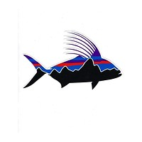 PATAGONIA ROOSTER STICKER