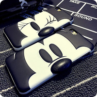 3D Cute Mouse Case Cover For Apple iPhone 6 Case Cartoon 6 Series Plastic Hard Original Case For Phone