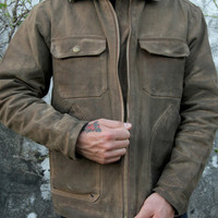 West America | West America x Woolrich Jacket (Brown)