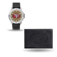 Nice Watches For Men 49ers Black Watch And Wallet