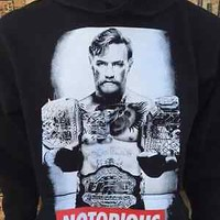 Conor McGregor Notorious Sweater Hoodie UFC Sweatshirt