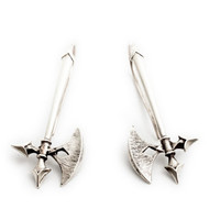 Battle Axe Earrings