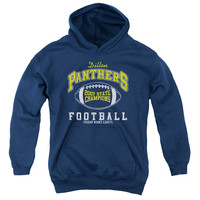 FRIDAY NIGHT LIGHTS/STATE CHAMPS - YOUTH PULL-OVER HOODIE - NAVY - MD - NAVY -