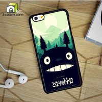 My Neighbor Totoro Poster Variant Olly Moss Mondo iPhone 6 Case by Avallen
