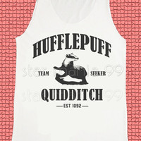 Hufflepuff Quidditch Shirt Hufflepuff Shirt Harry Potter Shirt Unisex Shirt Tank Top Women Tunic Singlet Sleeveless Women Shirt Size S,M,L