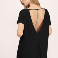 Michelle V-Neck Shift Dress