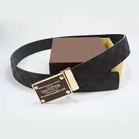 LV Woman Fashion Smooth Buckle Belt Leather Belt
