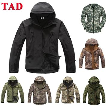 Military Tactical S TAD Sharkskin Jacket Or Pants Men Outdoor Hunting Clothes Hiking Climbing Waterproof Sport Suits