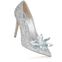 Crystal Covered Pointy Toe Pump 'Cinderella Slipper' | Cinderella | Exclusive | JIMMY CHOO Shoes