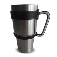 Handle for 30 Oz YETI Rambler Tumbler (Handle only-Tumbler not included) Fits Yeti, RTIC, Kuer CorpCups, SIC Cups, and Most Other 30oz Cups. BACKORDER
