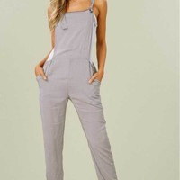 Bohemian Knot Tie Overalls