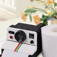 Polaroid Retro Camera Toilet Paper Holder - PFTPHOLDERA