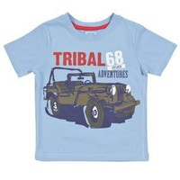 Clothing at Tesco | FF Jeep print t-shirt > tops & t-shirts > Younger boys (1-7years) >