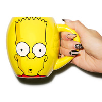 Vandor The Simpsons Oval Ceramic Mug Yellow One