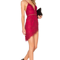 NBD Only One Dress in Merlot