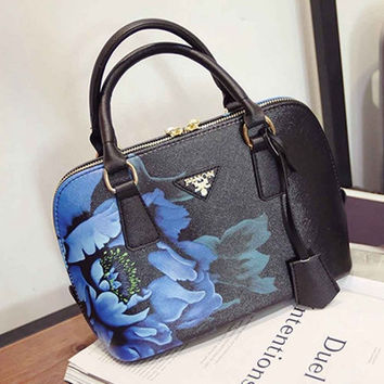 Bag Women Messenger Bags Handbags Women Famous s Designer Floral Print Women Bag Shoulder Crossbody Bags Tote bolsos CF