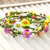 Budding Beauty Floral Crowns