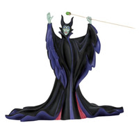 Precious Moments Disney Showcase Stand Back You Fools Maleficent Fig.