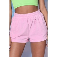 Life Of Leisure Mix N Match Terry Cloth Shorts