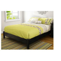 Twin Platform Wood Bed by SouthShore
